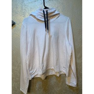 Under Armour NWT  loose white hoodie!